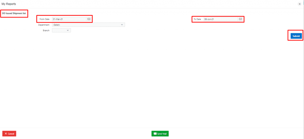 DO Issued Shipment list 2