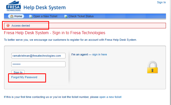 Help desk 1